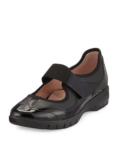 Taryn Rose Arnissa Mixed Leather Sport Slip-On