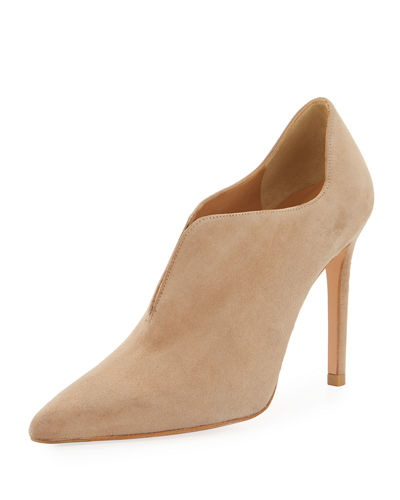Rhythm Split Suede High Bootie