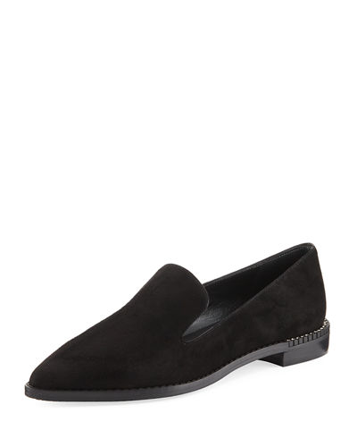 Runatab Suede Pointed-Toe Loafer