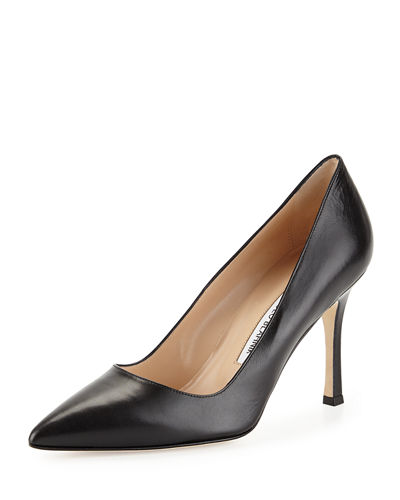 BB Leather 90mm Pump