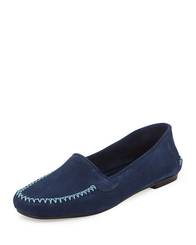 Speed Suede Moccasin Driver Flat
