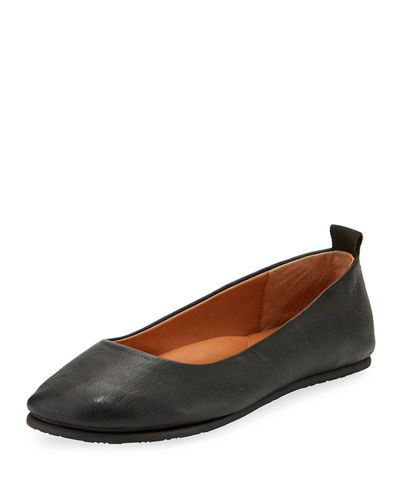 Dana Leather Ballerina Flat
