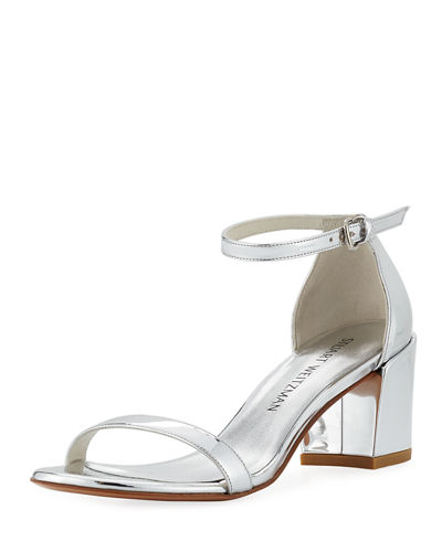 Simple Metallic 55mm City Sandal