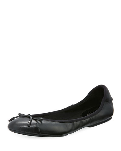 MK City Two-Tone Ballerina Flat