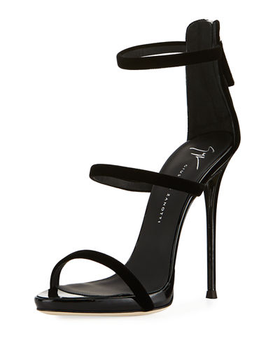Three-Strap 120mm Sandal