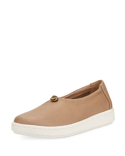 Sydney Pull-Tab Leather Sneaker