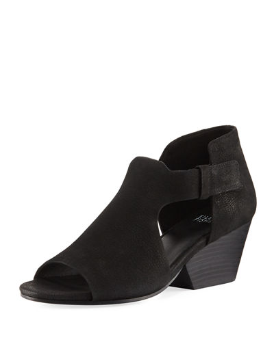 Eileen Fisher Iris Cutout Leather Sandal