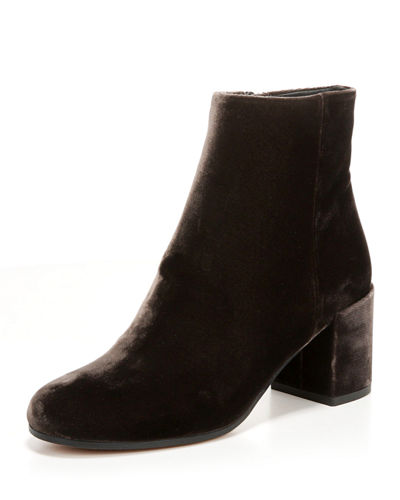 Blakely Velvet 60mm Bootie