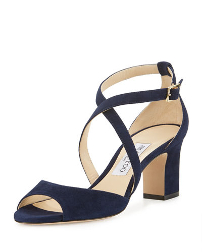 Carrie Suede 65mm Sandal