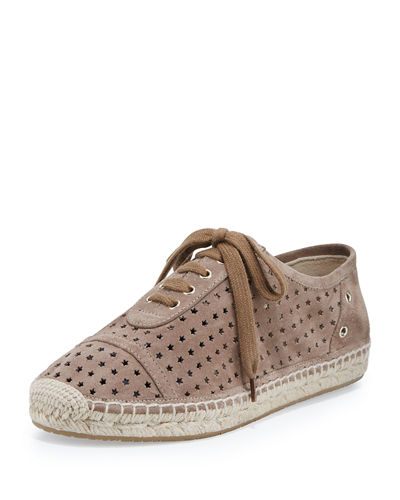 Dara Star-Perforated Espadrille Sneaker