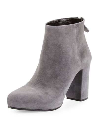 Prada Suede 85mm Ankle Boot