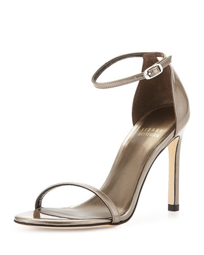 Nudistsong Patent Leather Sandal