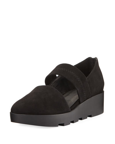 Marlow Suede Wedge Pump