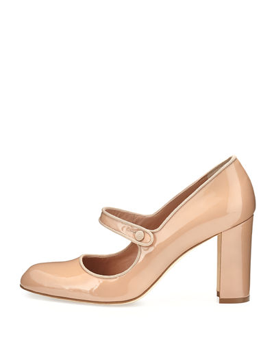 Manolo Blahnik Campy 90mm Mary Jane Pump