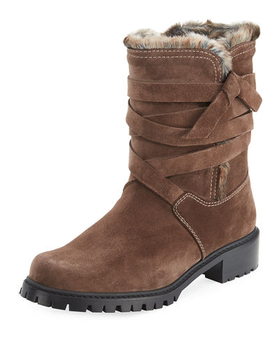 Snowfield Faux-Fur Velour Boot