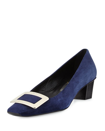 Decollete Belle Suede Pump