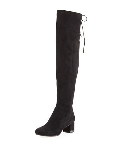 Jamie Sueded Over-the-Knee Boot