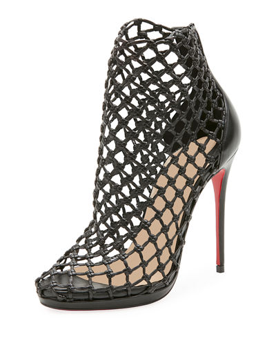 Porligat Caged Red Sole Bootie