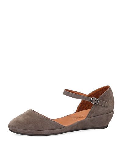 Noa Star Mary Jane Suede Flat