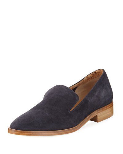 CALISTA SUEDE SLIP ON OXFORD