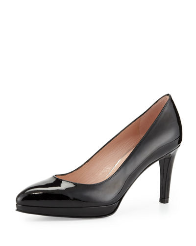 Plato Patent Leather Pump