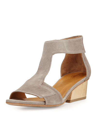 Ollie Leather City Sandal