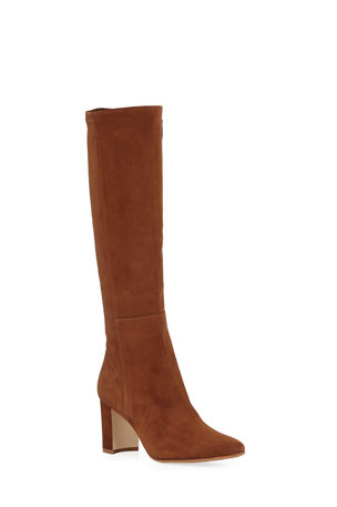 Manolo Blahnik Pita Suede Knee Boot
