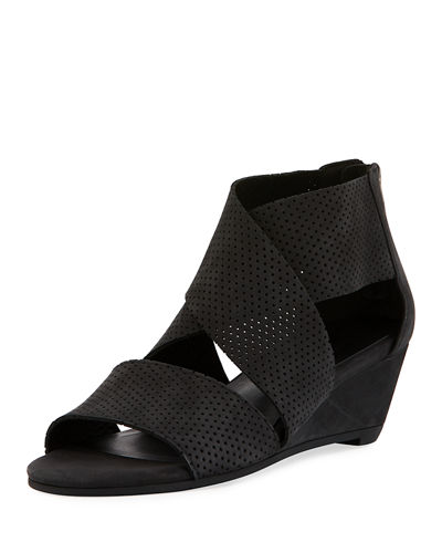Kes 2 Perforated Wedge Sandal