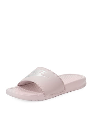 Nike Benassi JDI Metallic ... Women's Slide Sandals
