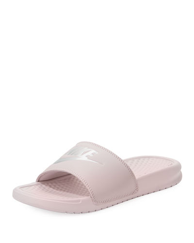 Nike Benassi JDI Metallic ... Women's Slide Sandals Bm8kv