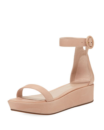 Outlet Locations Sale Really Stuart Weitzman Cutout Platform Sandals Cheap Looking For G2wj3