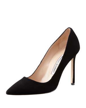 Manolo Blahnik BB Suede 115mm Pumps