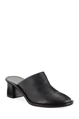 THE ROW Teatime Leather Clog Mules