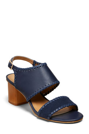 Jack Rogers Sloane Mixed Stitched Sandals