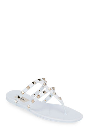 Valentino Garavani Summer Rockstud Jelly Sandals