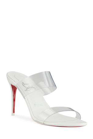 Christian Louboutin Just Nothing Illusion Red Sole Sandals