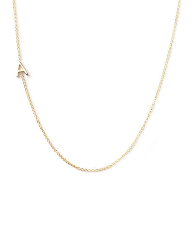 Maya Brenner Designs 14k Yellow Gold Mini Letter