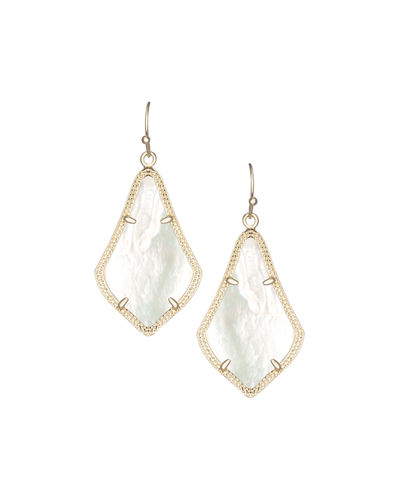 Alex Rose Quartz Earrings