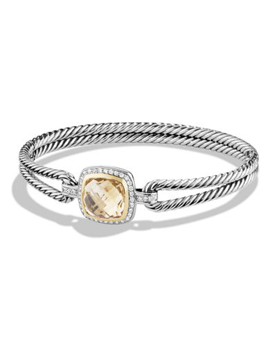 Albion Bracelet with Diamonds and 18k Gold