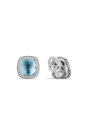 David Yurman 11mm Albion Earrings with Diamonds