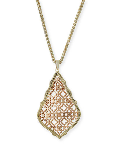 Aiden Mixed Metal Pendant Necklace