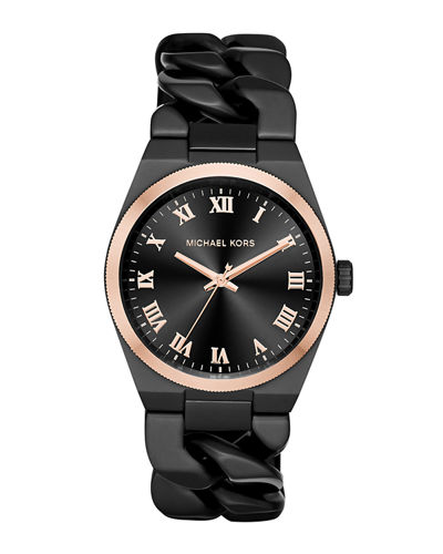 Michael Kors 38mm Channing Chain Link Watch