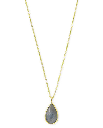18k Rock Candy® Teardrop Pendant Necklace
