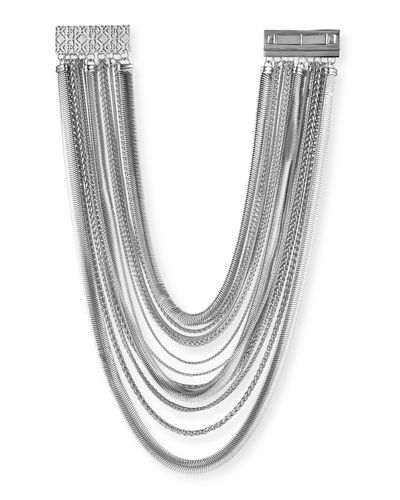 Kendra Scott Wylie Mixed Chain Necklace
