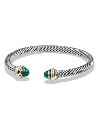 David Yurman Cable Bullet Cabochon Bracelet, 5mm