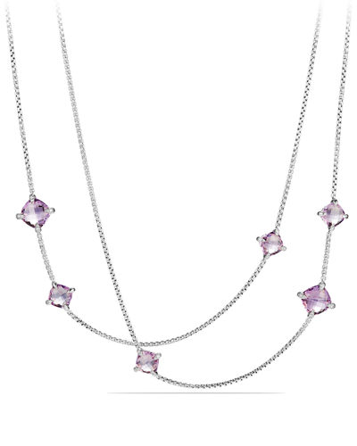 David YurmanLong Châtelaine Station Necklace, 36