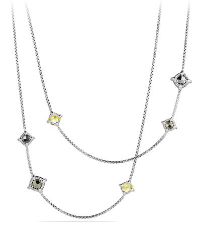 Long Châtelaine Station Necklace, 36
