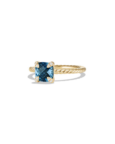 7mm Châtelaine Ring with Diamonds
