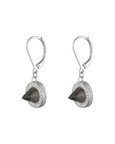 Eddie BorgoRound Cone Drop Earrings