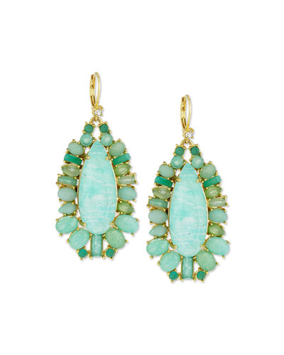 kate spade new york seastone sparkle statement earrings